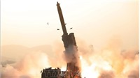 KCNA: Triều Tiên thử thành công hệ thống phóng cỡ lớn
