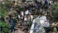 Lai Châu: Xe tải lao xuống suối cạn, 3 người thiệt mạng tại chỗ