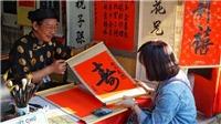 Phong tục Tết cổ truyền: Ước vọng Xuân Canh Tý qua từng nét chữ