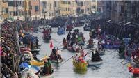 VIDEO: Phản đối du thuyền hoạt động tại Venice