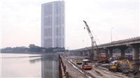 Hà Nội đẩy nhanh xây dựng cầu vượt qua hồ Linh Đàm
