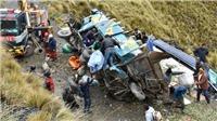 Xe buýt lao xuống vực ở Bolivia khiến ít nhất 15 người thiệt mạng