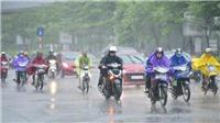Không khí lạnh gây mưa và dông ở Bắc Bộ và Bắc Trung Bộ