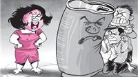 Truyện cười: Sợ vợ