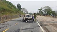 Quảng Nam: Nổ xe ô tô khiến 2 người tử vong