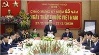 Bí thư Thành ủy Hà Nội Vương Đình Huệ kiểm tra công tác phòng, chống dịch COVID-19