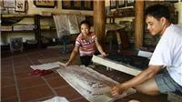 Hồ sơ quốc gia 'Nghề làm tranh dân gian Đông Hồ': Việc khẩn cấp trước những nguy cơ
