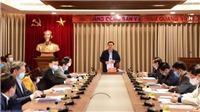 Bí thư Thành ủy Hà Nội Vương Đình Huệ: Nhiệm vụ ưu tiên hàng đầu là phòng, chống dịch COVID-19