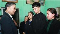 Hà Nội: Hỗ trợ gia đình 3 cán bộ, chiến sỹ Công an hy sinh tại xã Đồng Tâm