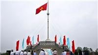 Nhân 45 năm thống nhất đất nước: Lễ Thượng cờ Thống nhất non sông tại Đôi bờ Hiền Lương - Bến Hải