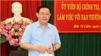 Bí thư Thành ủy Hà Nội Vương Đình Huệ: Xây dựng quận Bắc Từ Liêm là nơi đáng sống bậc nhất Thủ đô