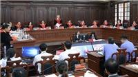 Xét xử giám đốc thẩm vụ án Hồ Duy Hải: Chánh án Tòa án nhân dân Tối cao Nguyễn Hòa Bình làm chủ tọa phiên tòa