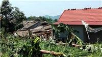Phú Thọ: Giông lốc gây thiệt hại nặng