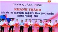Thủ tướng Nguyễn Xuân Phúc dự Lễ khánh thành cầu Bài Thơ và đường bao biển Trần Quốc Nghiễn - Quảng Ninh