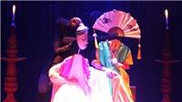 Vở rối 'Thân phận nàng Kiều' trình diễn trên sân khấu Nhà hát Lớn Hà Nội