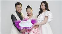 Hoa hậu Lê Âu Ngân Anh đồng hành NTK Ivan Trần trong dự án cộng đồng 'Vì trẻ em ung thư'