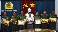 Khen thưởng đột xuất thành tích truy bắt phạm nhân trốn trại Triệu Quân Sự 
