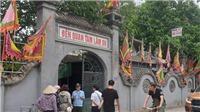 Hà Nội: Hỏa hoạn thiêu rụi gần toàn bộ hiện vật ở đền Lâm Du