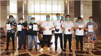 Dịch COVID-19: 146 chuyên gia nước ngoài đến Vĩnh Phúc hoàn thành cách ly y tế tập trung