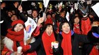 Đa số người dân Hàn Quốc tham gia thăm dò ý kiến mong muốn 'cùng chung sống hòa bình' với Triều Tiên