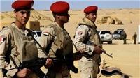 Ai Cập tiêu diệt 2 phần tử khủng bố nguy hiểm