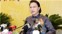 Chủ tịch Quốc hội Nguyễn Thị Kim Ngân dự khai mạc Kỳ họp thứ 15 HĐND thành phố Hà Nội