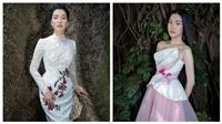 'Nàng thơ xứ Huế' Ngọc Trân cuốn hút trong trang phục của NTK Hoàng Hải