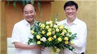 Trao Quyết định bổ nhiệm ông Nguyễn Thanh Long làm Bí thư Ban cán sự Đảng, Quyền Bộ trưởng Bộ Y tế