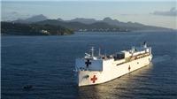 Hải quân Mỹ điều động lực lượng hỗ trợ đặc biệt tới bang Texas chống dịch COVID-19