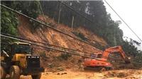 Đã thông xe Quốc lộ 2 Hà Giang - Hà Nội tắc nhiều giờ do mưa lũ