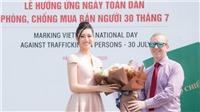 Hoa hậu Lương Thuỳ Linh hưởng ứng 'Ngày toàn dân phòng chống mua bán người'