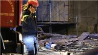 Vụ sập giàn giáo tại phố Nguyễn Công Trứ (Hà Nội): Xác định danh tính các nạn nhân