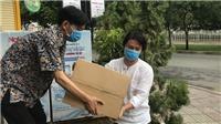 Dịch COVID-19: Tiếp nhận ủng hộ từ chương trình 'Đà Nẵng, Quảng Nam - Triệu con tim hướng về'