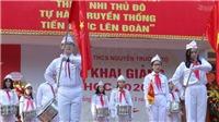 Hà Nội: Hơn 2000 GV, HS Trường THCS Nguyễn Trường Tộ khai giảng năm học mới
