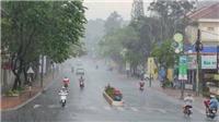 Đông Bắc Bộ, Trung Bộ mưa to, đề phòng lốc, sét và gió giật mạnh