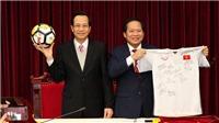 FLC đấu giá 20 tỷ đồng cho áo đấu và bóng của U23 Việt Nam