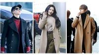 'Học lỏm' các thần tượng KPop phối đồ áo khoác dài cực sành điệu