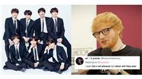 BTS và Ed Sheeran: một 'phép cộng' đáng mong chờ!