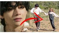 Tan chảy trước sự ân cần của V với 'em gái mưa' trong MV 'ON' của BTS