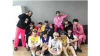 Xem video hậu trường 'tình thương mến thương' của BTS và TXT