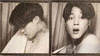 Jimin BTS lại khiến fan 'sốc nặng' với những bức ảnh đen trắng tại máy chụp tự động