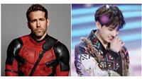 Hóa ra 'Deadpool' Ryan Reynolds cũng là fan Jungkook (BTS)