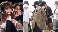 Bất ngờ xuất hiện tại sân bay, BTS khiến fan phát cuồng khi nghe tin chuẩn bị quay show thực tếmới nhất
