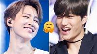 Jimin và Kai cực thân bất chấp chiến tranh của fan BTS và EXO