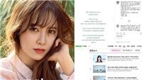 VIDEO: 'Nàng cỏ' Goo Hye Sun chính thức tuyên bố ngừng diễn xuất