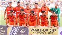 VIDEO trực tiếp Thanh Hóa vs SHB Đà Nẵng (17h, 7/4), V League 2019 vòng 4. Trực tiếp BĐTV, FPT Play