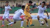 Thanh Hóa vs HAGL: Soi kèo và trực tiếp bóng đá(18h00 hôm nay), V League 2019