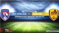 Trực tiếp bóng đá: Quảng Ninh đấu với Quảng Nam (18h00 hôm nay). Xem bóng đá Việt Nam