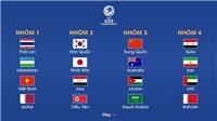 VIDEO Bốc thăm VCK U23 châu Á 2020: Bảng nào cũng là bảng tử thần