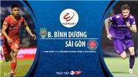 Soi kèo nhà cái Bình Dương vs Sài Gòn. Trực tiếp bóng đá Việt Nam